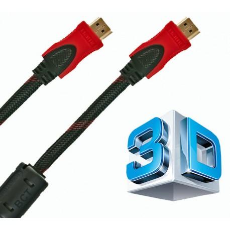 Kabel HDMI-HDMI 3m, 1,4a