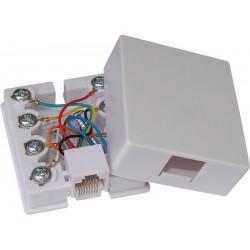Gniazdo komputerowe RJ45, 8p8c, kwadrat