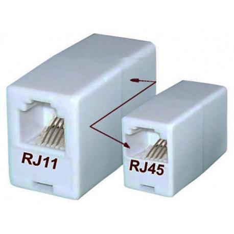 Łącznik, redukcja RJ11-RJ45
