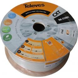 Kabel koncentryczny TELEVES, miedź, 250m