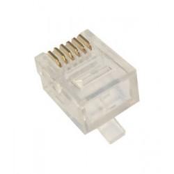 Wtyk modularny 6p6c