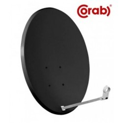 Antena satelitarna 80 cm Corab grafit