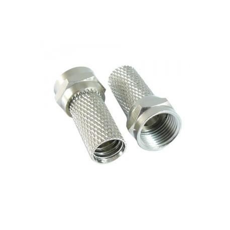 Wtyk F 6,8 mm z uszczelką