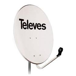 Antena SAT 80cmTELEVES biała -790121