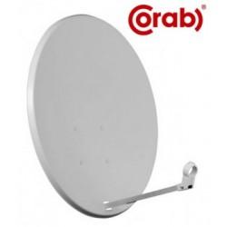 Antena satelitarna 80 cm Corab biała